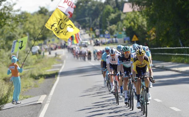 El Tour de Polonia terminó con grave accidente