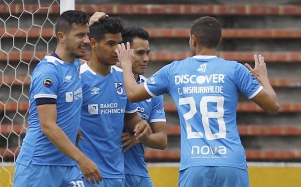 Universidad Católica marcó la goleada de la fecha ante Liga de Portoviejo