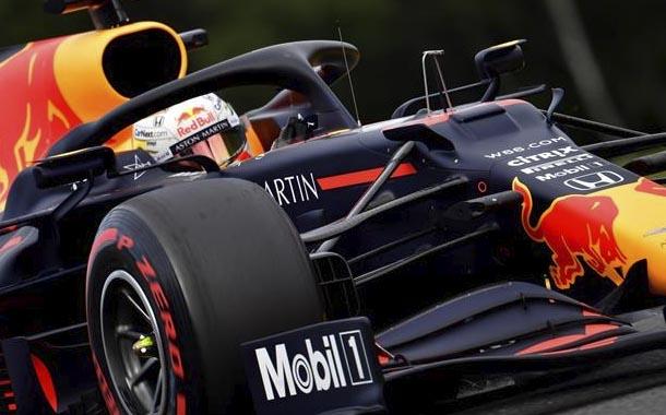 Max Verstappen domina los entrenamientos libres en Bélgica