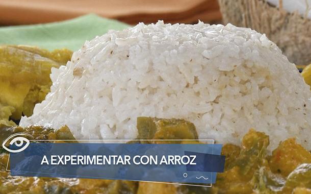 A experimentar con arroz