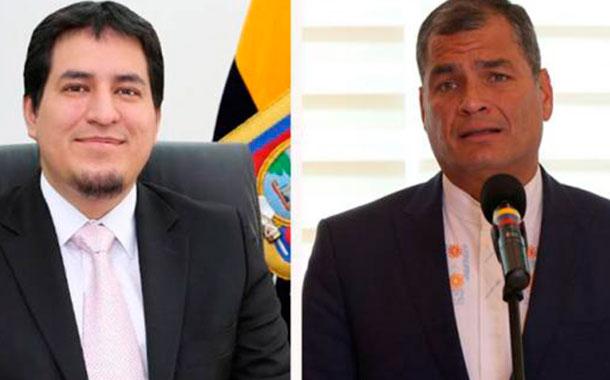 Centro Democrático eligió a Arauz y Correa como su bionomio presidencial