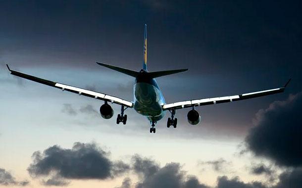Mujer llevaba huesos de esposo en el avión