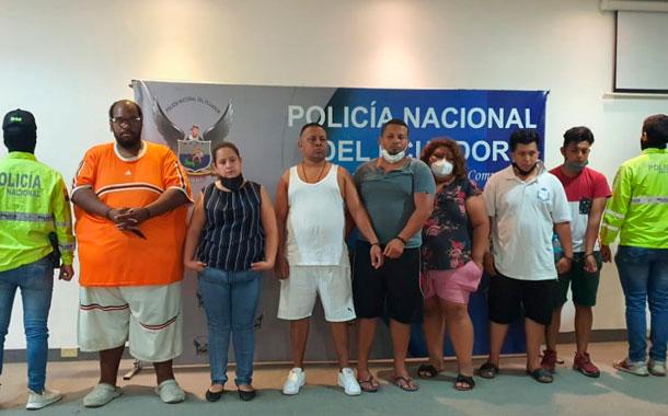 Policía desarticula banda que operaba en la cárcel de Guayaquil