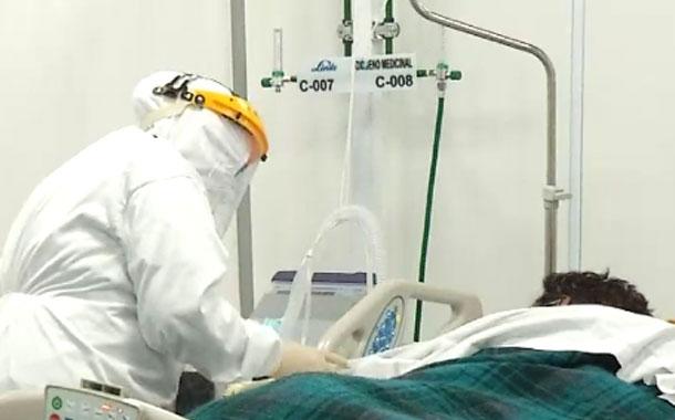 Centro Temporal Bicentenario habilita nueva área de cuidados intensivos