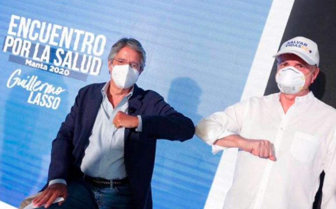 Guillermo Lasso anunció su candidatura para la presidencia de la República