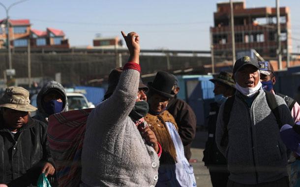 Ocho días de protestas asfixian a Bolivia