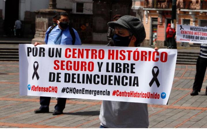 Moradores del centro realizarán protestas en contra de la delincuencia