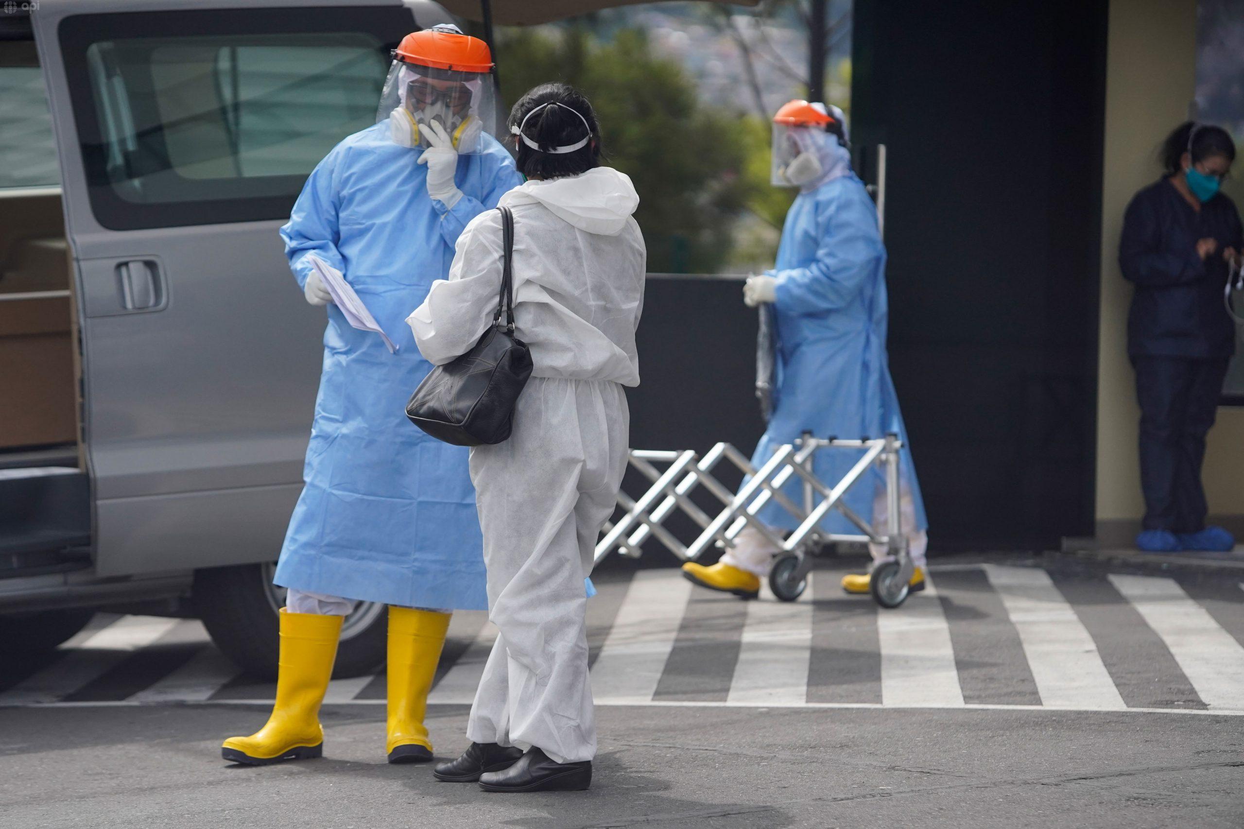 Quito es la ciudad con mayor número de contagios de Covid-19