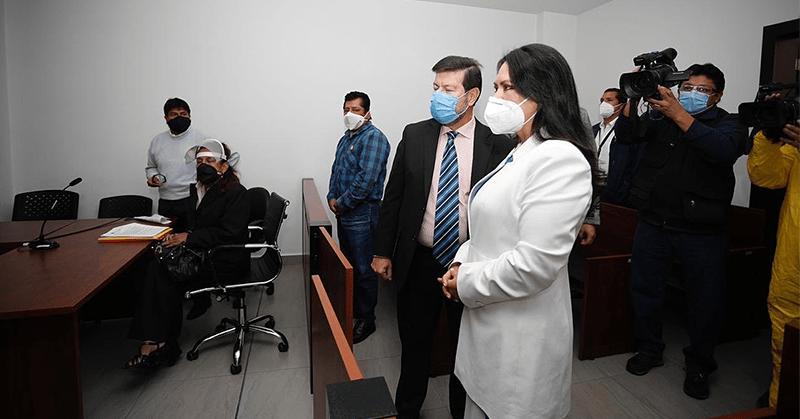 Supervisan que instalaciones judiciales cumplan con medidas de bioseguridad