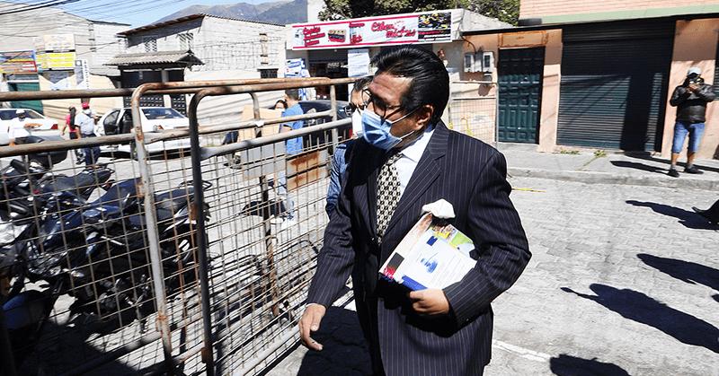 Daniel Salcedo rindió su versión en la cárcel de El Inca