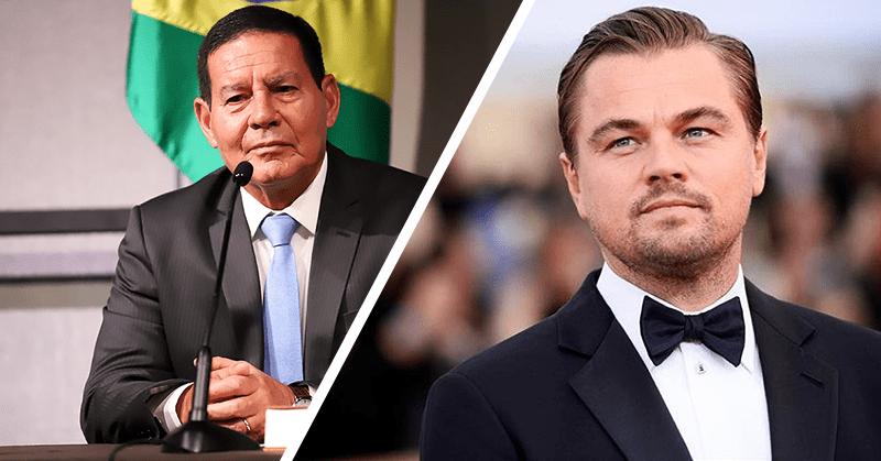 Vicepresidente brasileño desafía a DiCaprio a recorrer la selva amazónica