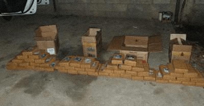 Cuatro toneladas de droga se decomisaron en dos provincias del país