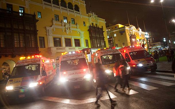 Trece muertos por asfixia en fiesta clandestina en Perú
