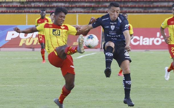 Independiente del Valle y Aucas empataron en el Atahualpa