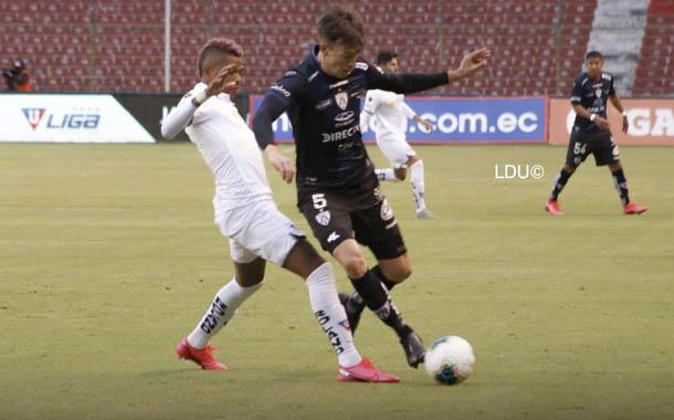 Liga e Independiente jugaron un amistoso lleno de golazos
