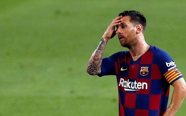 Lionel Messi no se presentó al entrenamiento de Barcelona