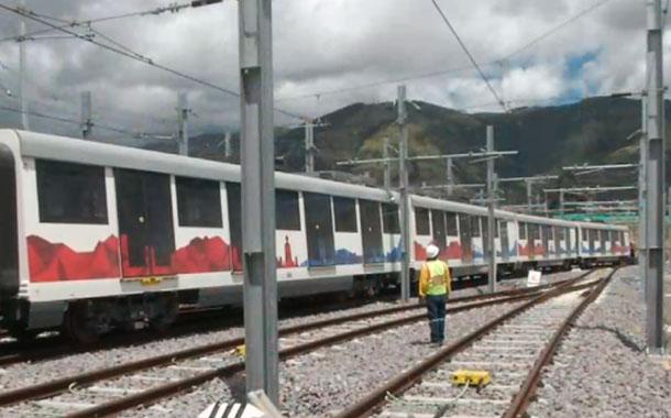 Los trenes del Metro de Quito iniciaron su etapa de prueba