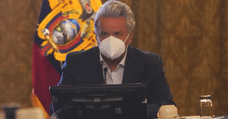 La credibilidad del presidente Moreno cae al 8%, según Cedatos