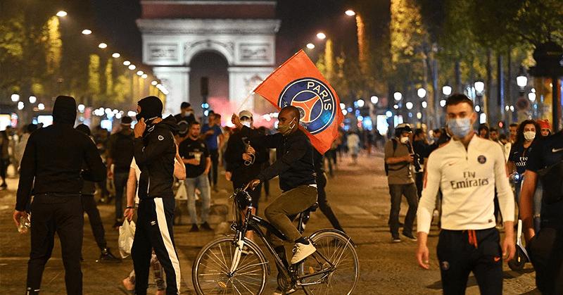 Disturbios por la final de 'La Champions' dejan más de cien detenidos