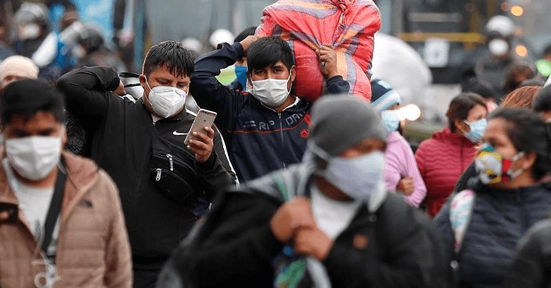 Perú volverá al toque de queda los domingos para enfrentar rebrote