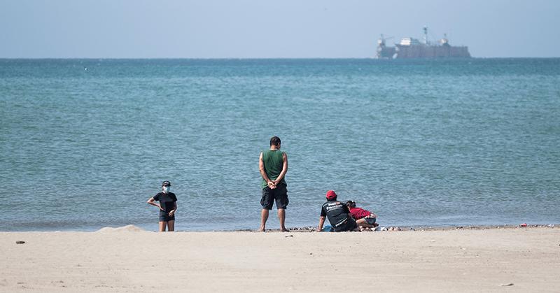 Seis playas empezaron a recibir turistas luego de su cierre por la pandemia