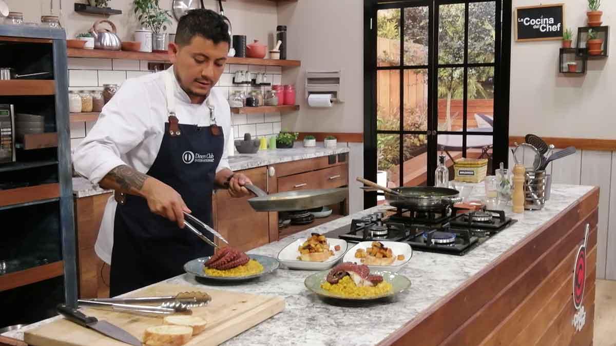 La Cocina del Chef: Arroz caldoso de pulpo, tapas de pulpo a la gallega