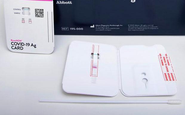EEUU autoriza nueva prueba para COVID que cuesta 5 dólares
