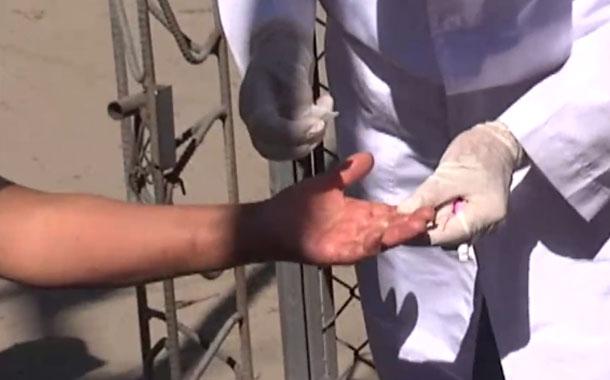Brigadas médicas realizan toma de pruebas de coronavirus en Quito