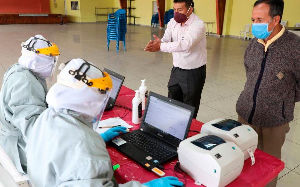OneLabt empezó a procesar 1 250 pruebas del Municipio de Quito