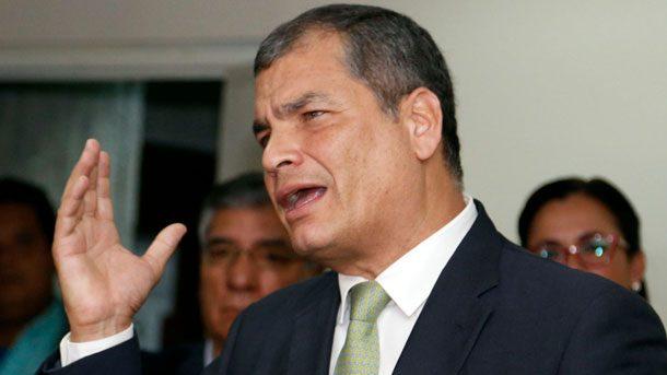 Sentencia contra Correa y otras 19 personas entra en su fase final