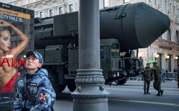 Rusia considerará todo misil lanzado como arma nuclear