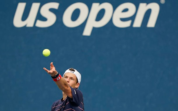 El tenis sin público en el US Open: 'un torneo futurista'