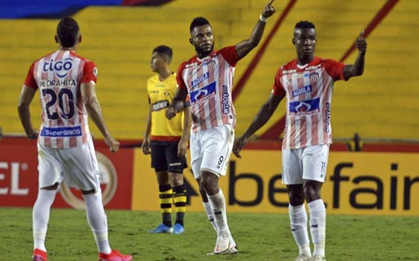 Barcelona pierde ante Junior por Copa Libertadores
