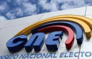 Siete binomios presidenciales calificados por el CNE