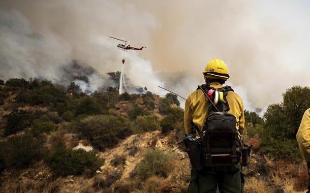 Incendios afectan calidad del aire desde EE.UU. hasta Canadá