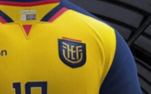 La nueva camiseta de Ecuador para las eliminatorias