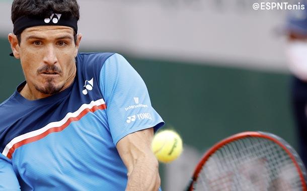 Emilio Gómez perdió en Roland Garros ante Lorenzo Sonego