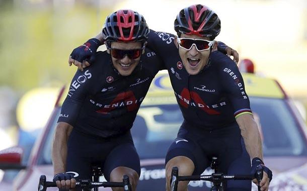 Kwiatkowski gana de la mano de Carapaz en la etapa 18 del Tour de Francia