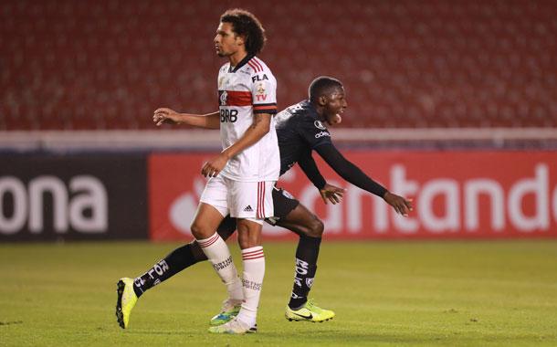 Independiente del Valle goleó a Flamengo por Copa Libertadores