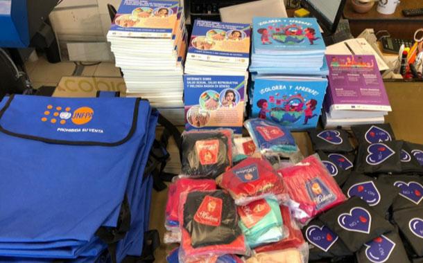 UNFPA y UNICEF entregaron mil Kits para mujeres víctimas de violencia