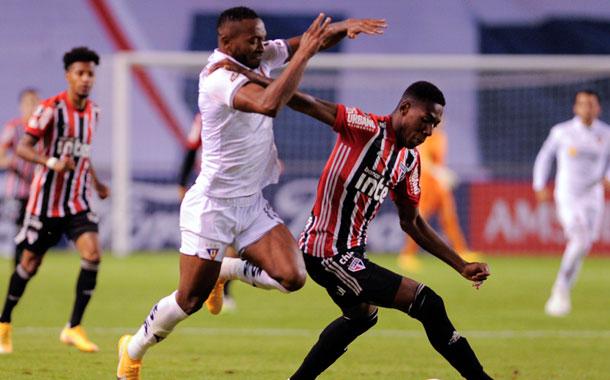 Liga de Quito venció a Sao Paulo en Casa Blanca por Copa Libertadores