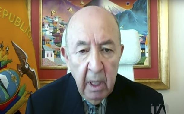 Luis Gallegos analiza lucha multilateral contra el coronavirus