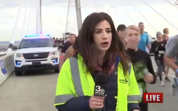 Hombre quien dio una nalgada a una reportera fue sentenciado
