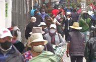 Continúan las aglomeraciones en el Centro Histórico de Quito