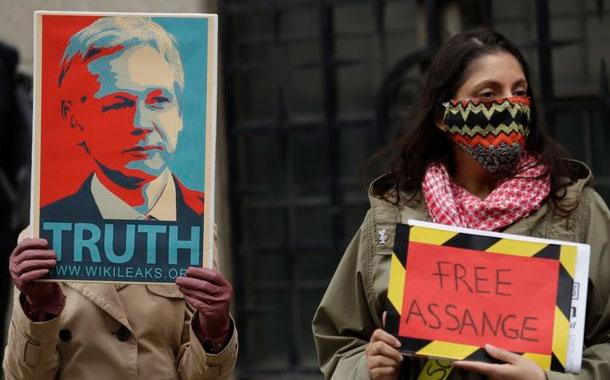 Jueza rechaza aplazar audiencia de extradición de Assange