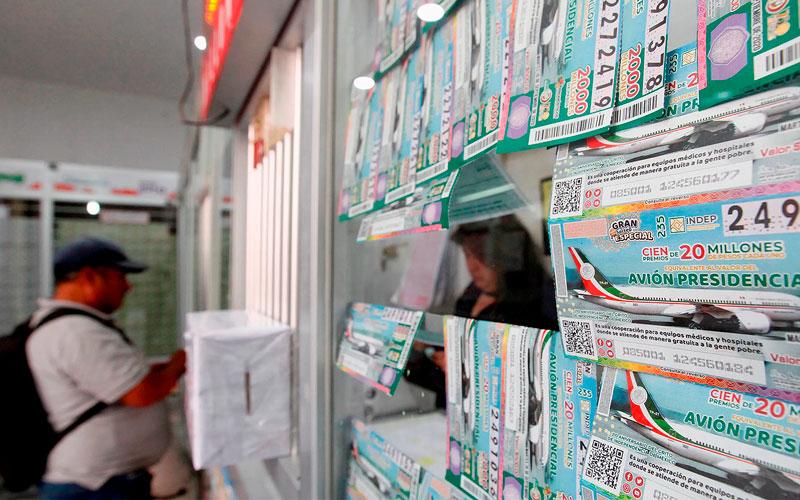 Gobierno mexicano exhorta a compra final de boletos previo a la rifa de avión