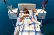 Parapentista turco logra dormir 15 minutos en las alturas