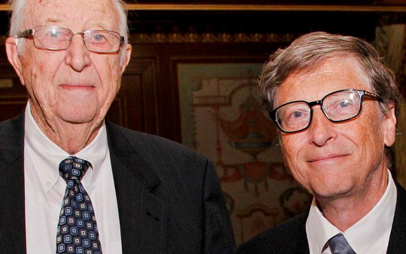 Muere William Gates, padre del cofundador de Microsoft Bill Gates