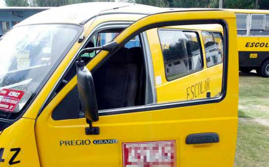 Transportistas escolares están en sus casas debido a la pandemia
