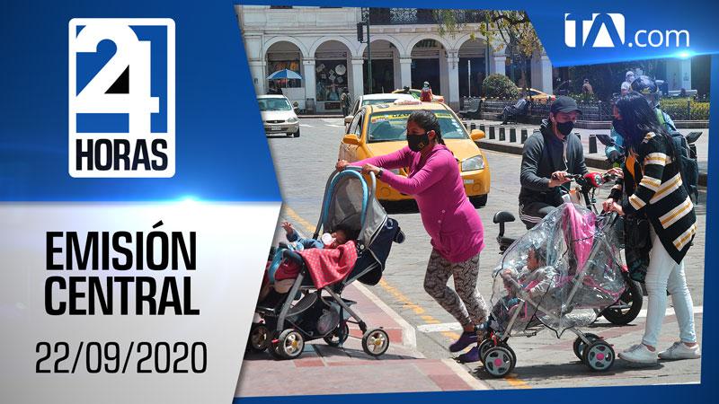 Noticiero 24 Horas, 22/09/2020 (Emisión Central)